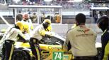 No. 74 Corvette Racing Pit Stop at Le Mans